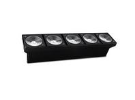 UNIVERSAL LED BLINDER 5x10W RGBW 4in1 25* DMX